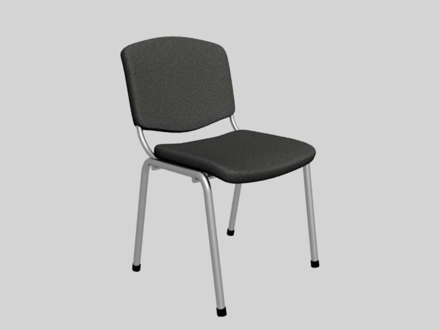 Chaise de bureau royalty-free 3d model - Preview no. 1