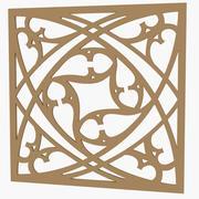 Painel Decorativo 04 3d model