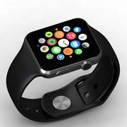 Apple Watch Schwarz 3d model