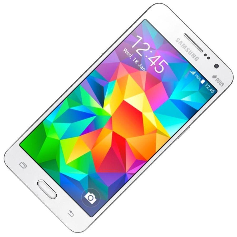 三星Galaxy Grand Prime royalty-free 3d model - Preview no. 15