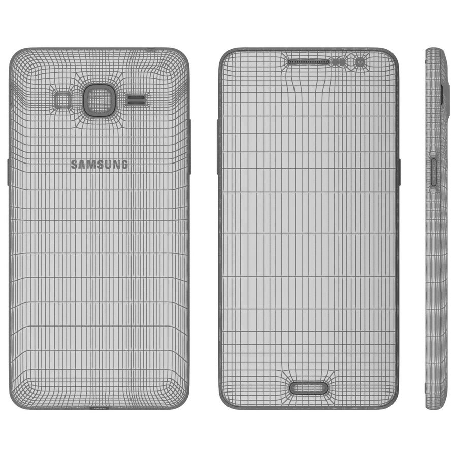 三星Galaxy Grand Prime royalty-free 3d model - Preview no. 25