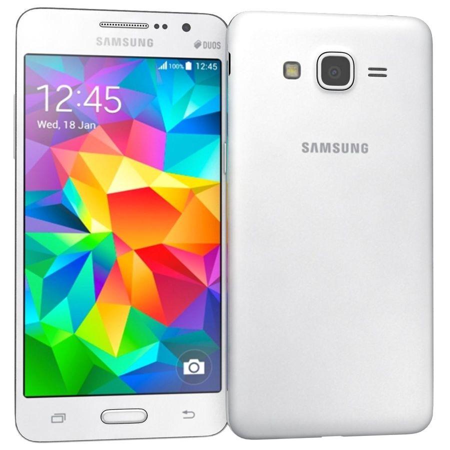 三星Galaxy Grand Prime royalty-free 3d model - Preview no. 2