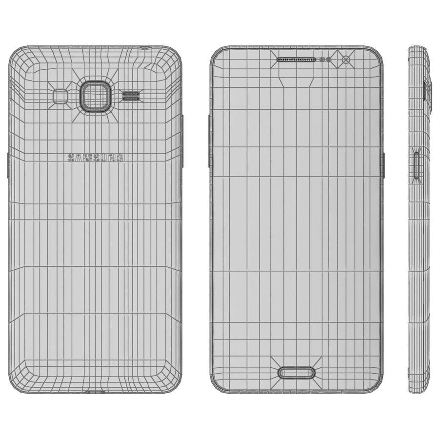 三星Galaxy Grand Prime royalty-free 3d model - Preview no. 23