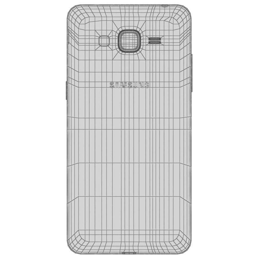 三星Galaxy Grand Prime royalty-free 3d model - Preview no. 28