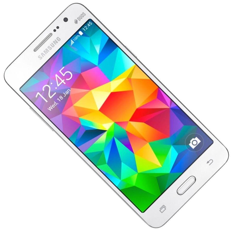 三星Galaxy Grand Prime royalty-free 3d model - Preview no. 18