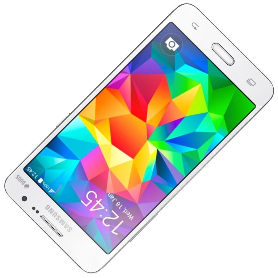 三星Galaxy Grand Prime royalty-free 3d model - Preview no. 17