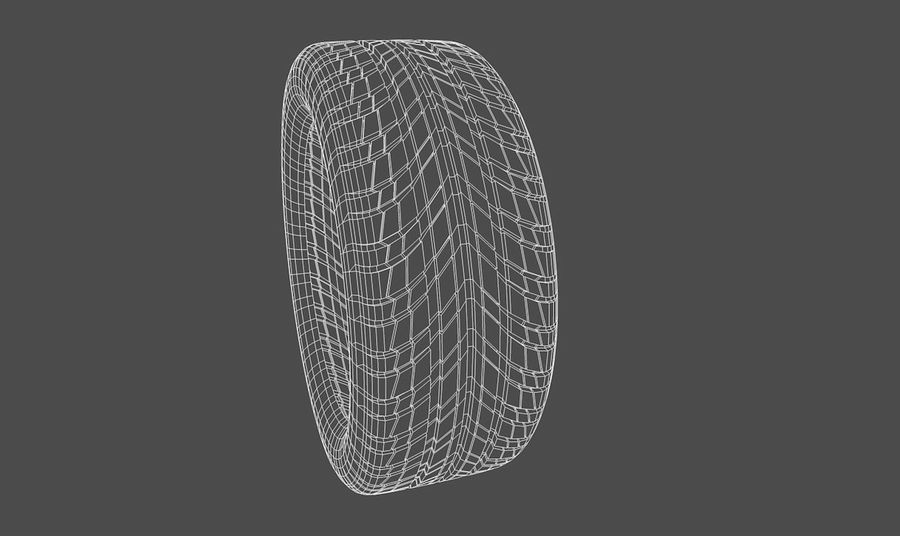Goodyear Ultragrip Tires royalty-free 3d model - Preview no. 8