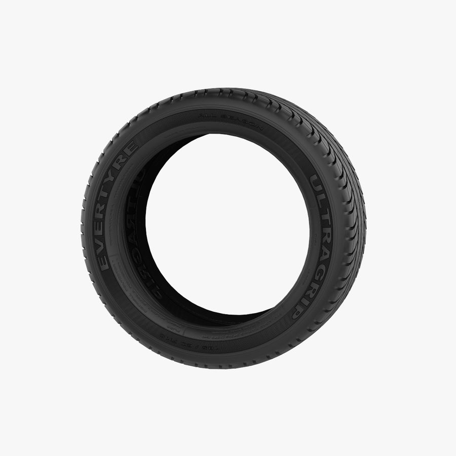 Goodyear Ultragrip Tires royalty-free 3d model - Preview no. 3