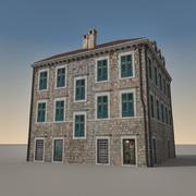 Italian Building 009 3d model