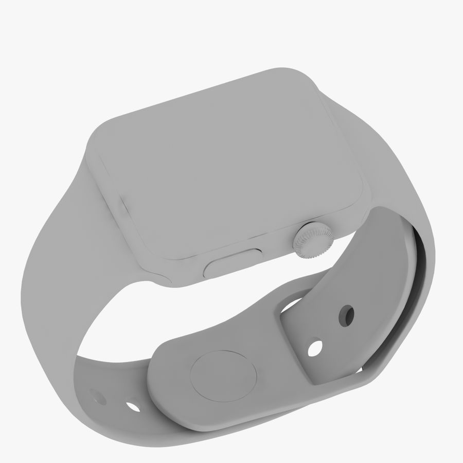 Apple Watch royalty-free 3d model - Preview no. 19