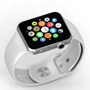 äpple klocka 3d model