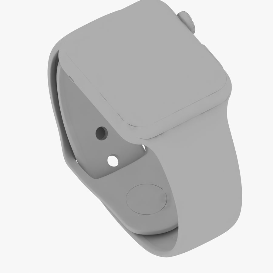 Apple Watch royalty-free 3d model - Preview no. 24