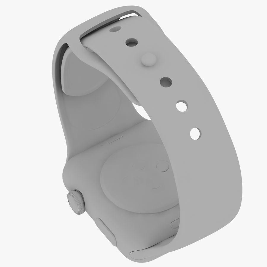 Apple Watch royalty-free 3d model - Preview no. 25