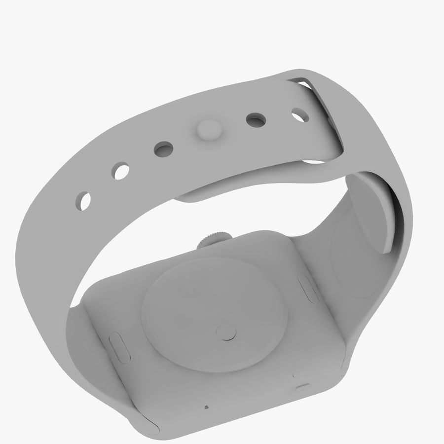 Apple Watch royalty-free 3d model - Preview no. 20