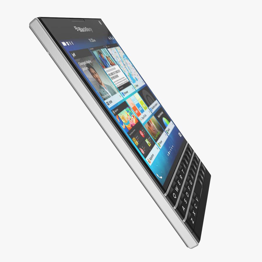 Blackberry Passport Smartphone royalty-free 3d model - Preview no. 11