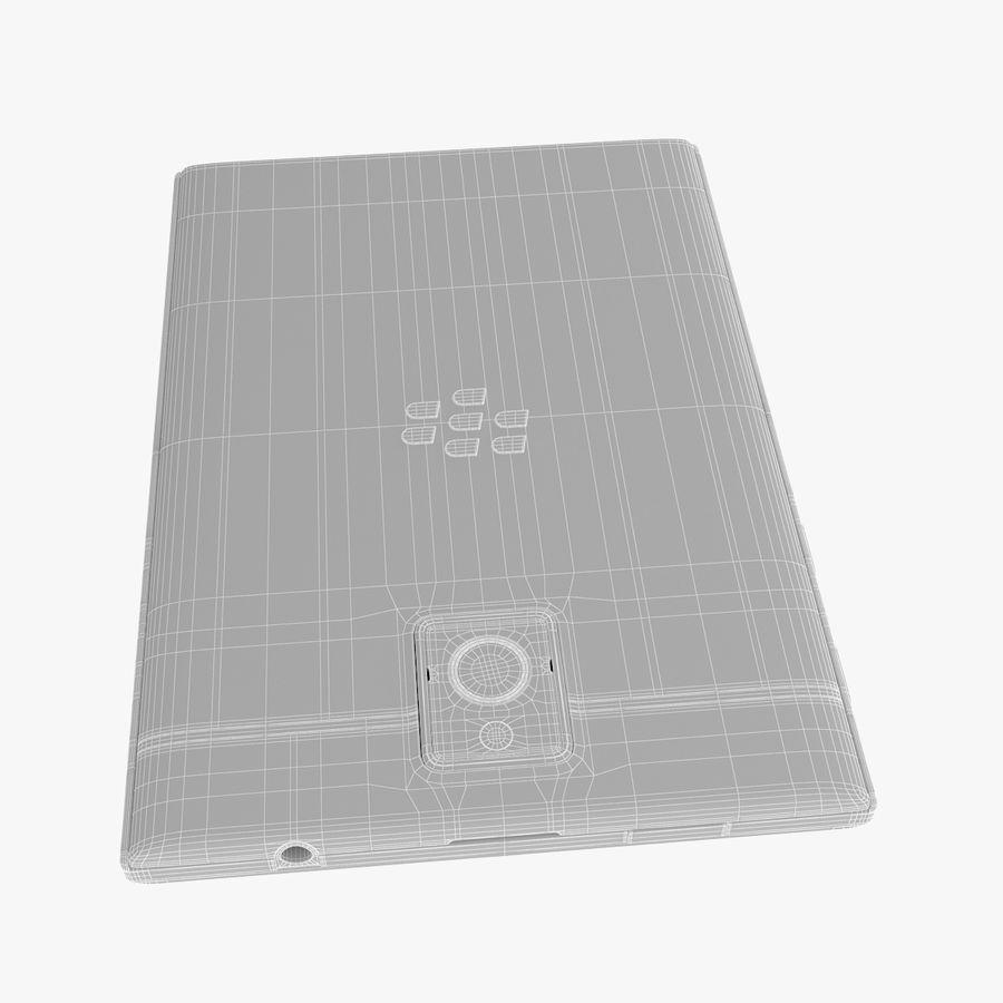 Blackberry Passport Smartphone royalty-free 3d model - Preview no. 15