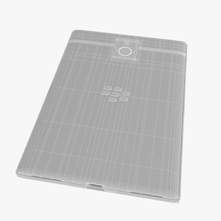 Blackberry Passport Smartphone royalty-free 3d model - Preview no. 14