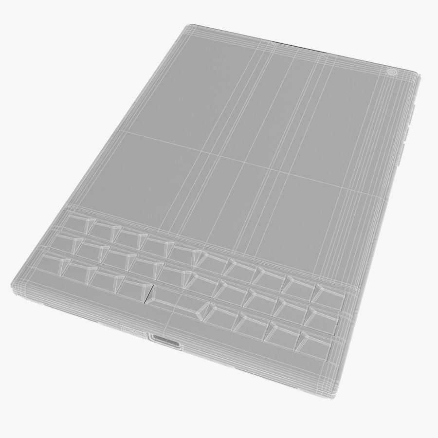 Blackberry Passport Smartphone royalty-free 3d model - Preview no. 12