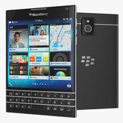 Smartphone Blackberry Passport 3d model