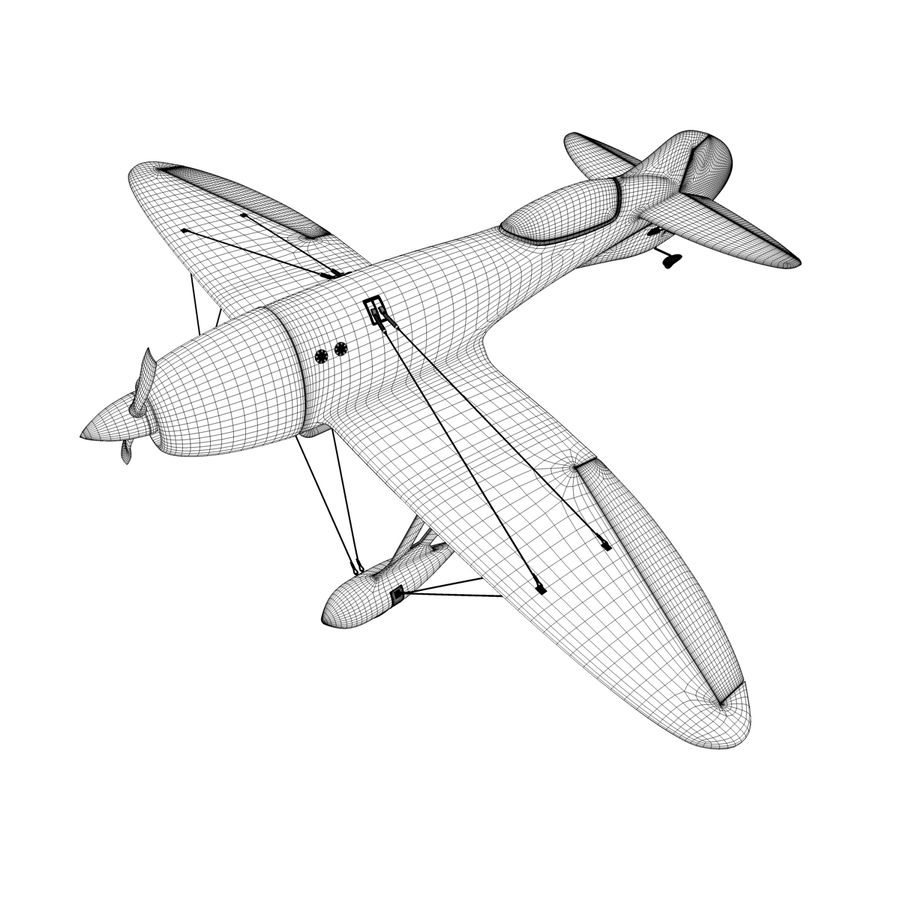 Спорт Самолет royalty-free 3d model - Preview no. 6
