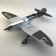 Спорт Самолет 3d model
