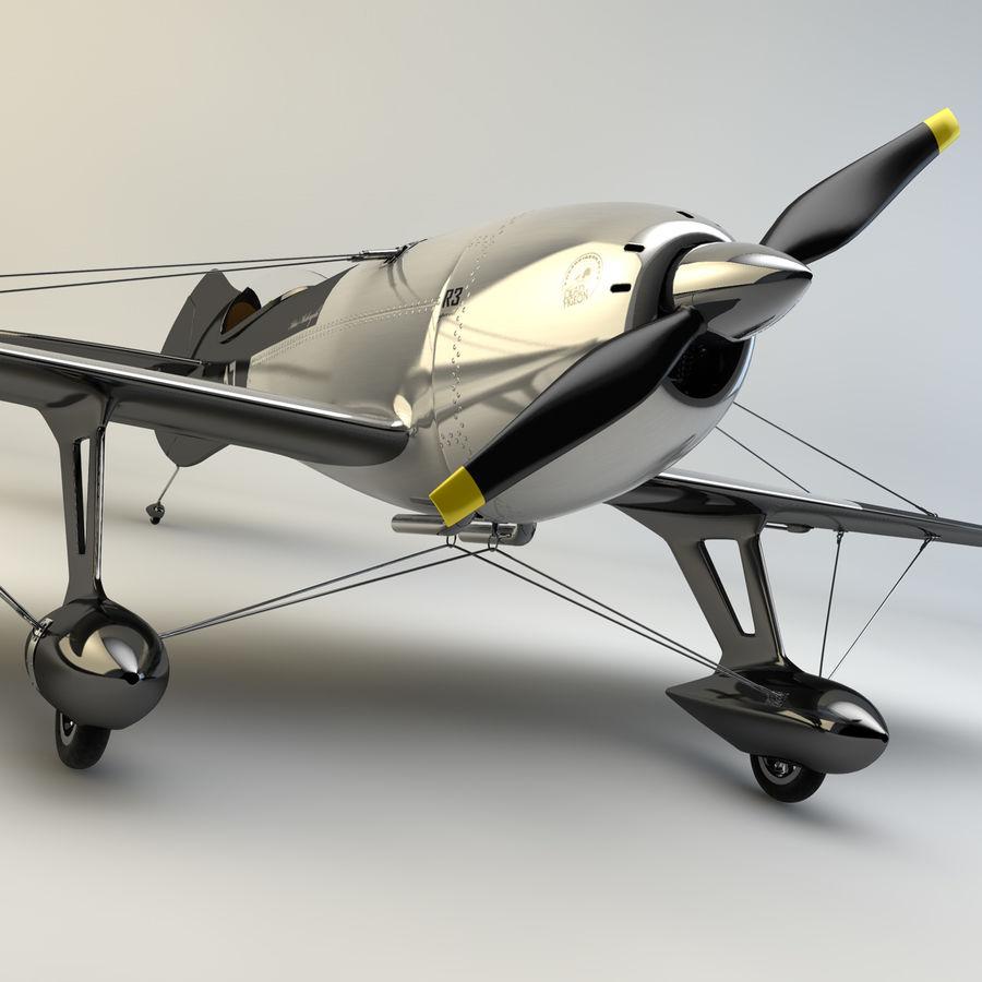 Спорт Самолет royalty-free 3d model - Preview no. 3