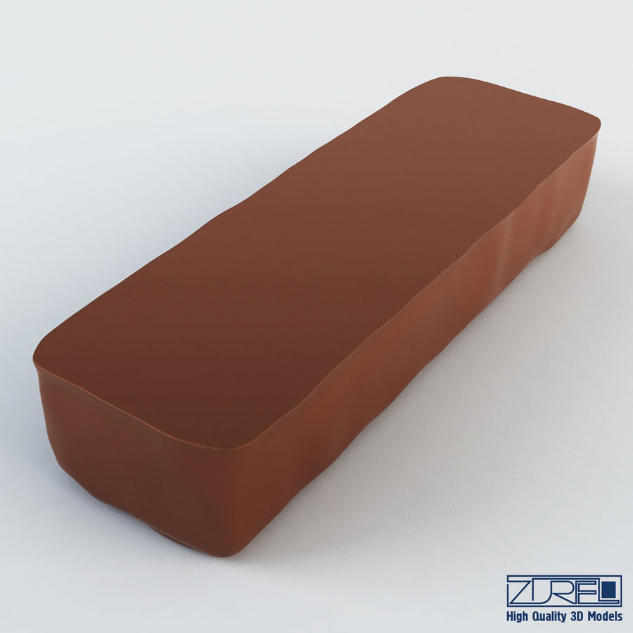 Snickers chocolate bar v 1 royalty-free 3d model - Preview no. 9