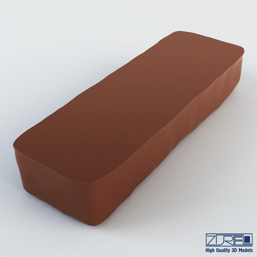 Snickers chocolate bar v 1 royalty-free 3d model - Preview no. 8