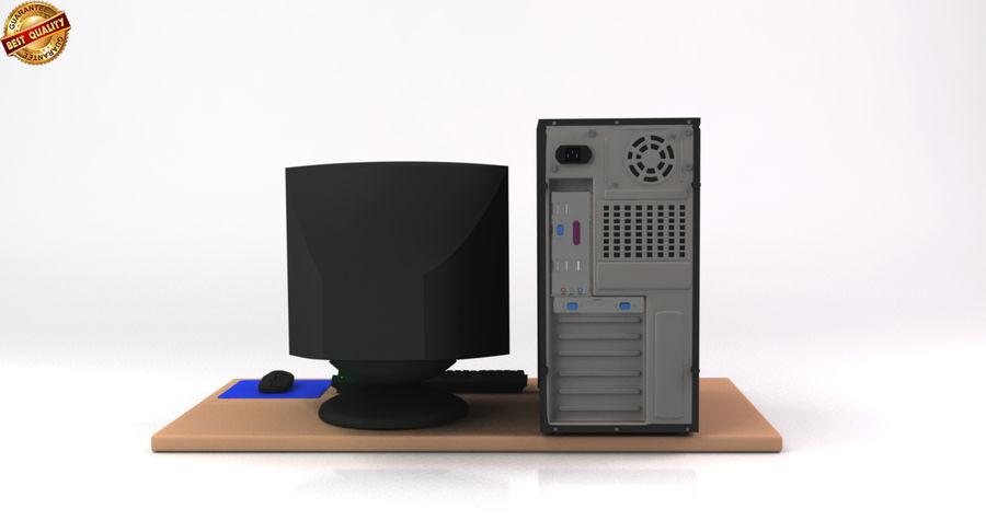 デスクトップコンピューター royalty-free 3d model - Preview no. 7