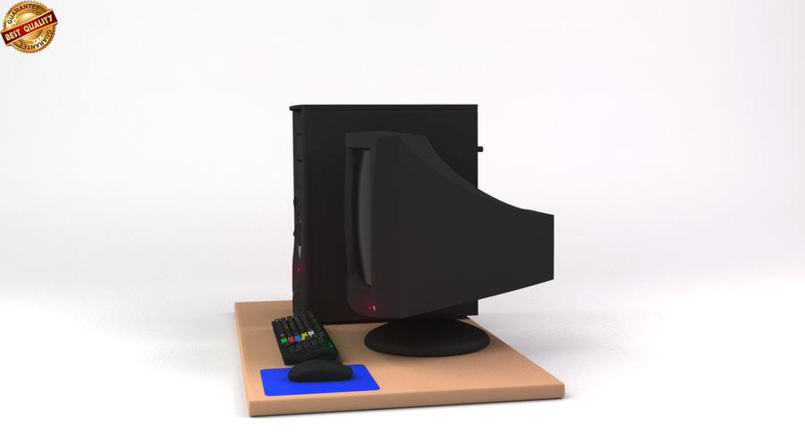 デスクトップコンピューター royalty-free 3d model - Preview no. 9