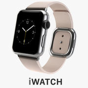 APPLE WATCH 38mm Stainless Modern Buckle 3d model