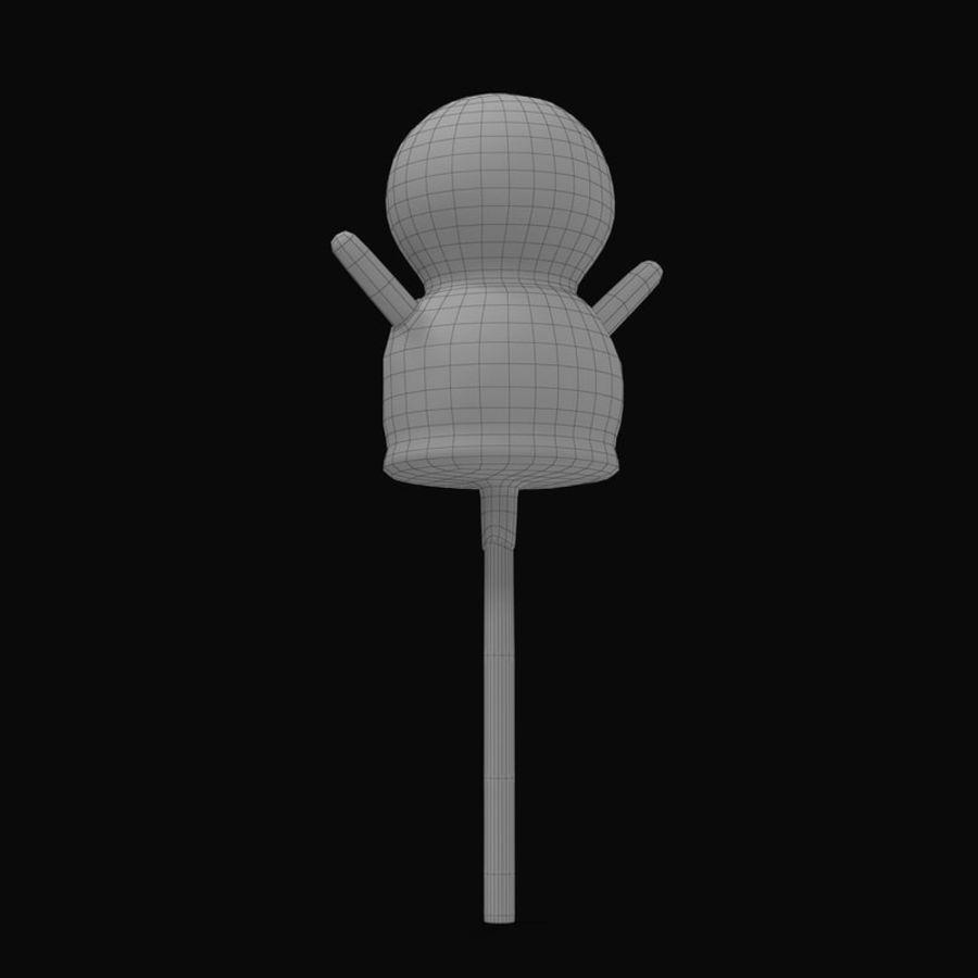 Kek Pop Kardan Adam royalty-free 3d model - Preview no. 10