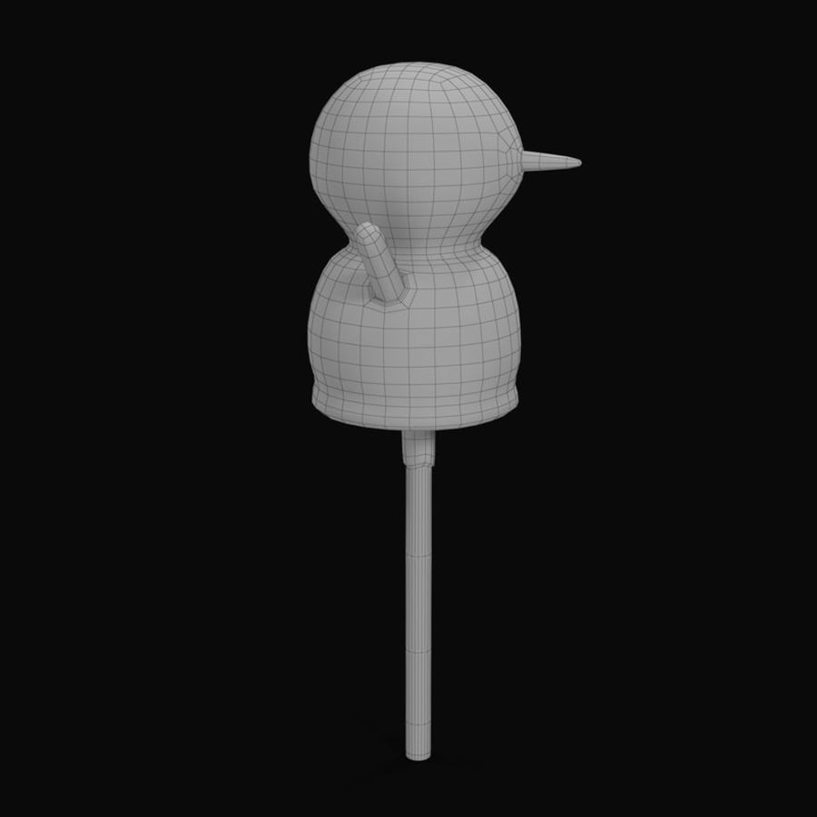 Kek Pop Kardan Adam royalty-free 3d model - Preview no. 11