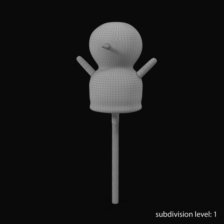 Kek Pop Kardan Adam royalty-free 3d model - Preview no. 17