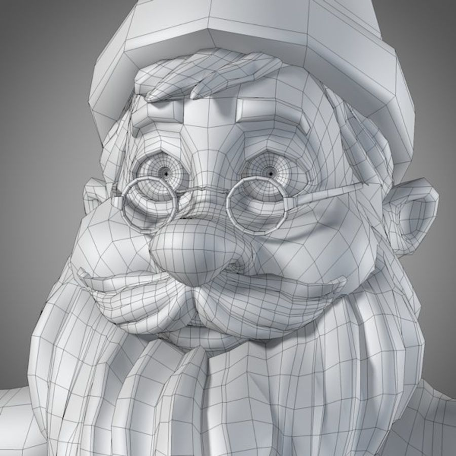 サンタ royalty-free 3d model - Preview no. 14