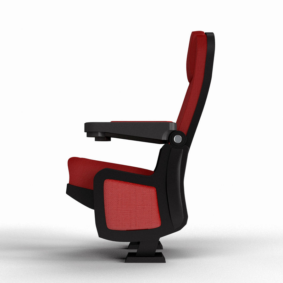 Cinema Seat royalty-free 3d model - Preview no. 5