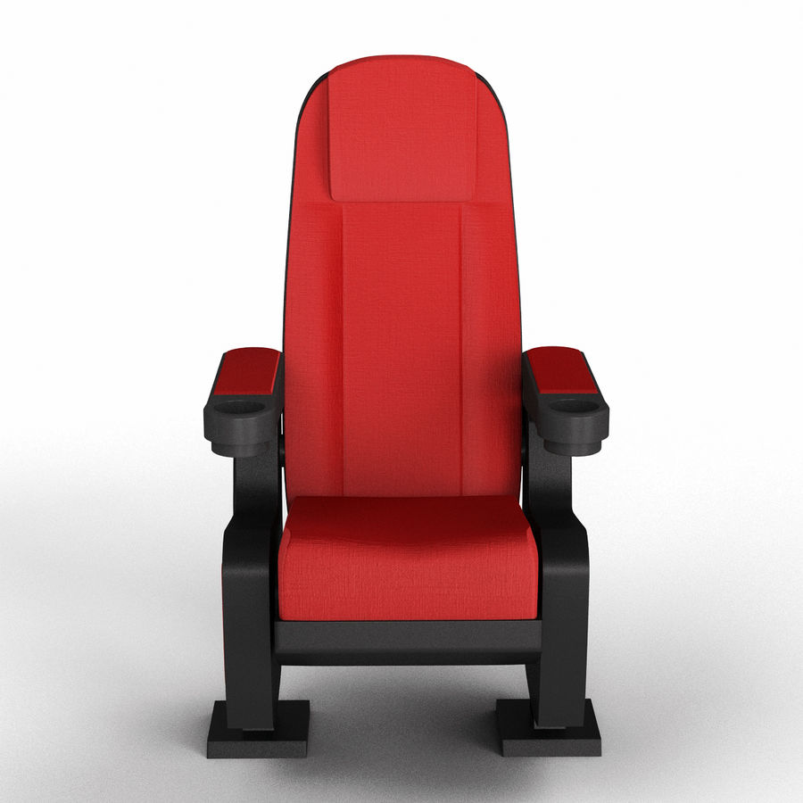 Cinema Seat royalty-free 3d model - Preview no. 1