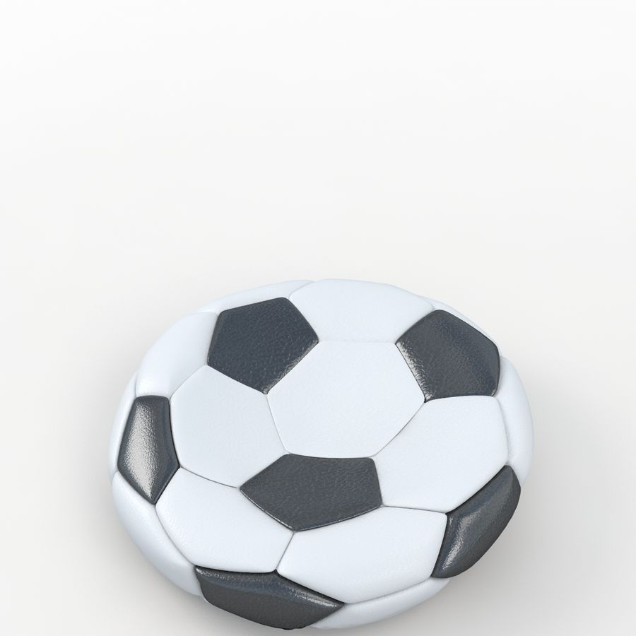 Plano de futbol royalty-free modelo 3d - Preview no. 5