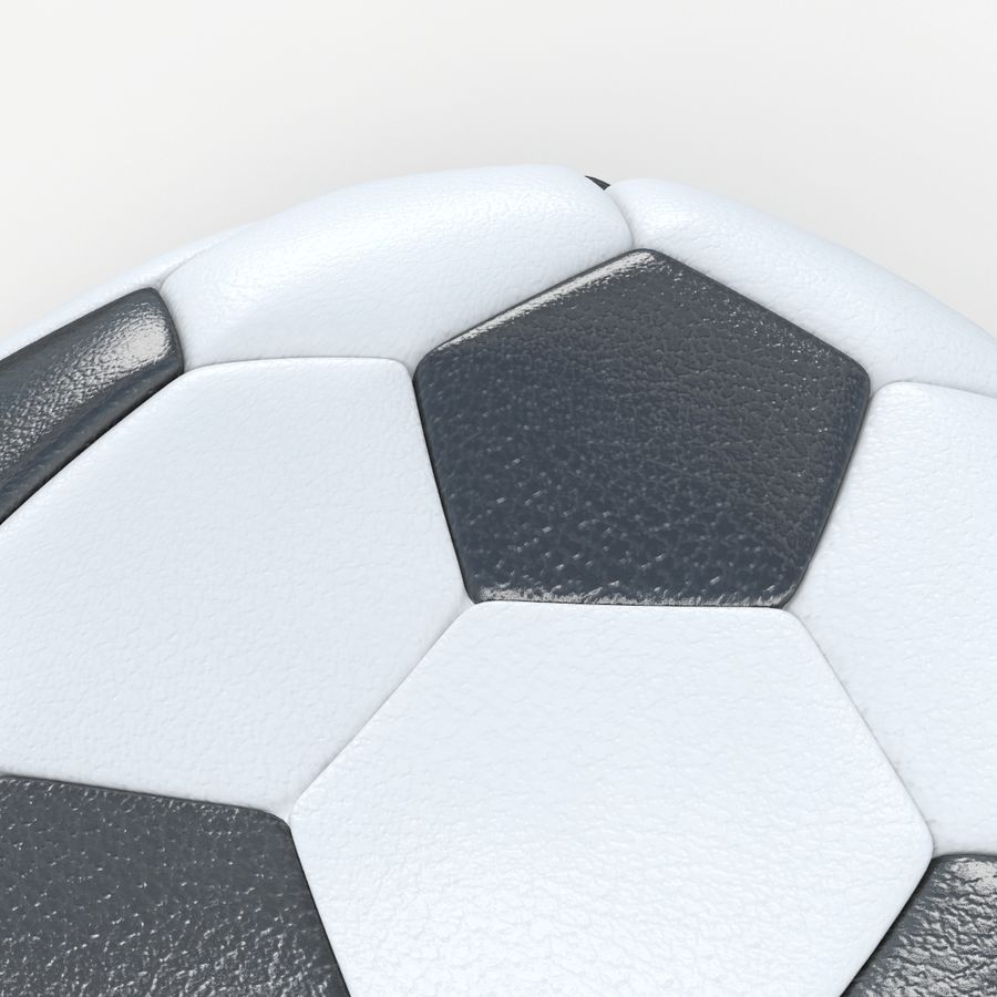 Plano de futbol royalty-free modelo 3d - Preview no. 4