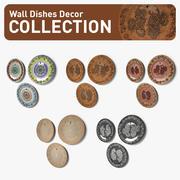 Wandgeschirr Dekor Kollektion 3d model
