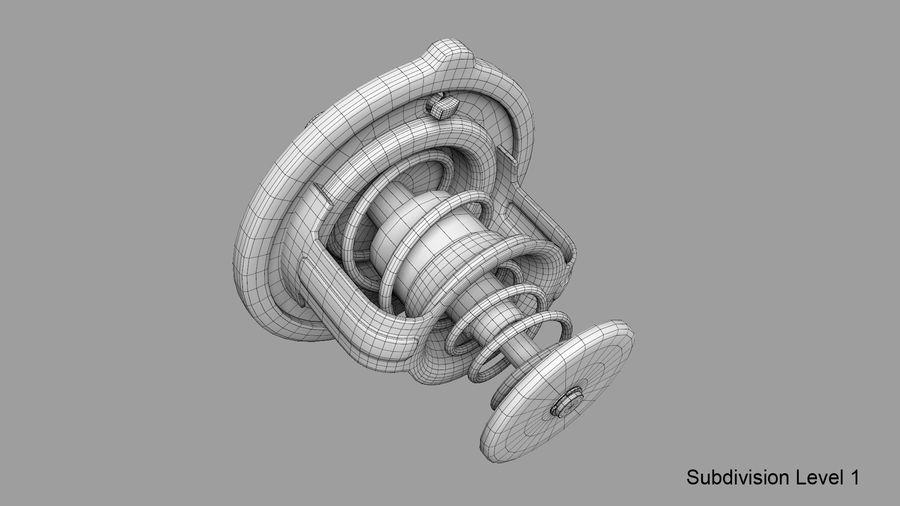 Termostato motore auto royalty-free 3d model - Preview no. 23