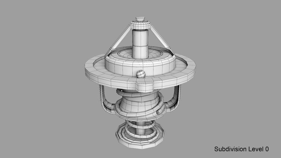 Termostato motore auto royalty-free 3d model - Preview no. 19