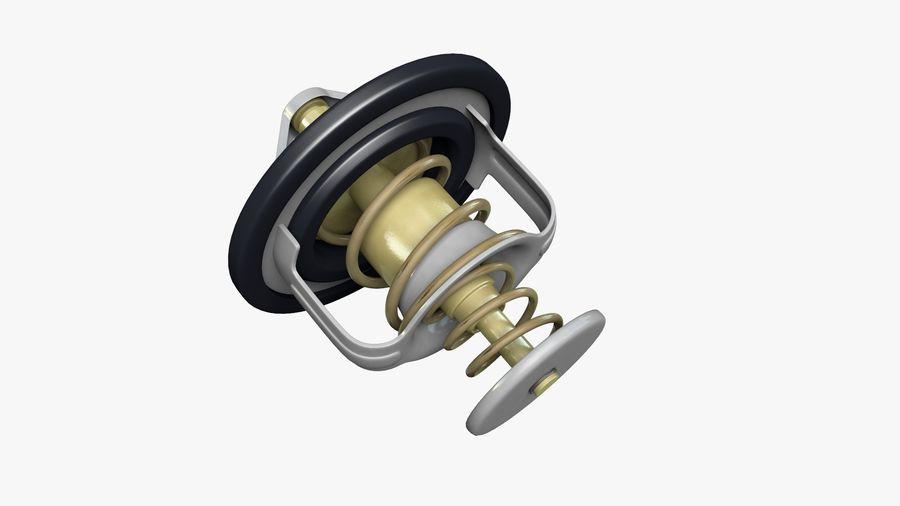 Termostato motore auto royalty-free 3d model - Preview no. 5