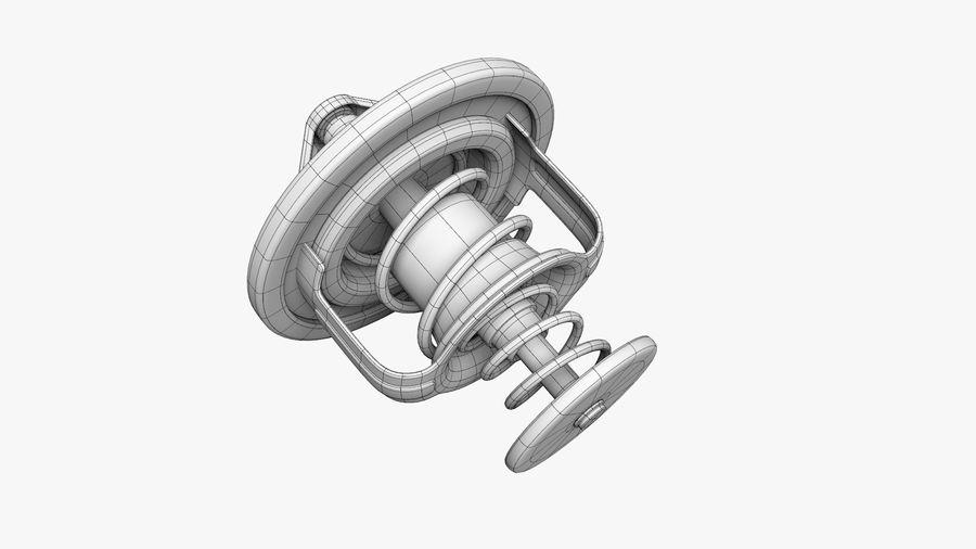 Termostato motore auto royalty-free 3d model - Preview no. 14
