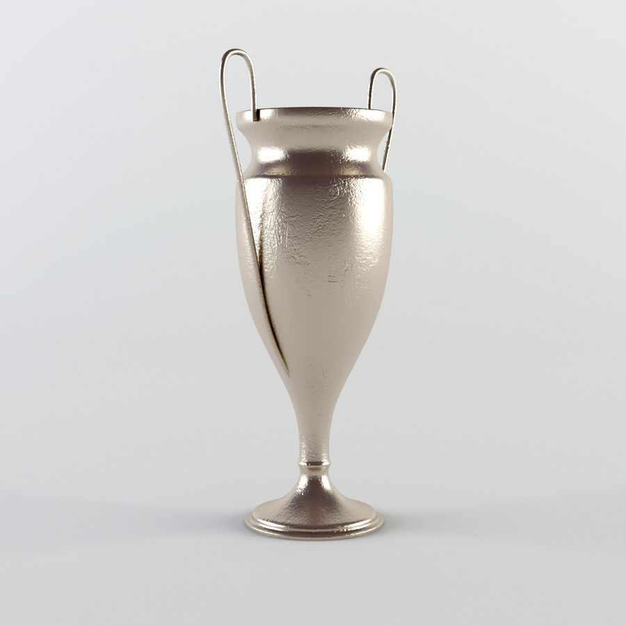 Trophy Cup - Award Set royalty-free 3d model - Preview no. 3