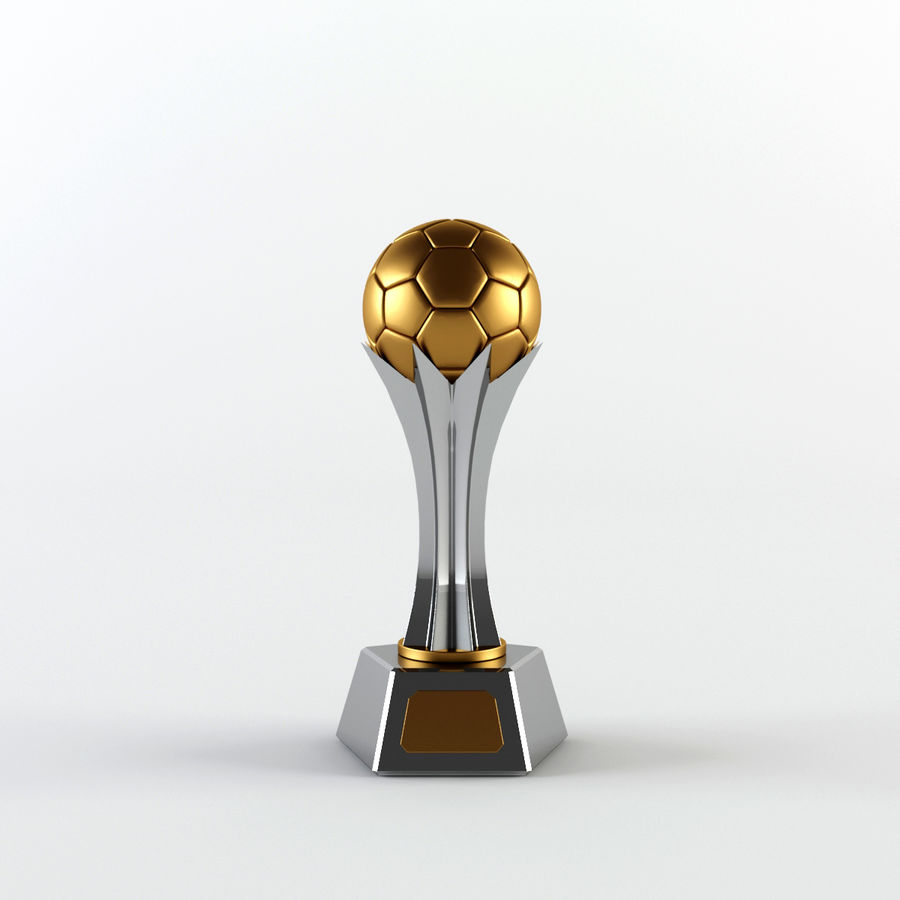 Trophy Cup - Award Set royalty-free 3d model - Preview no. 7
