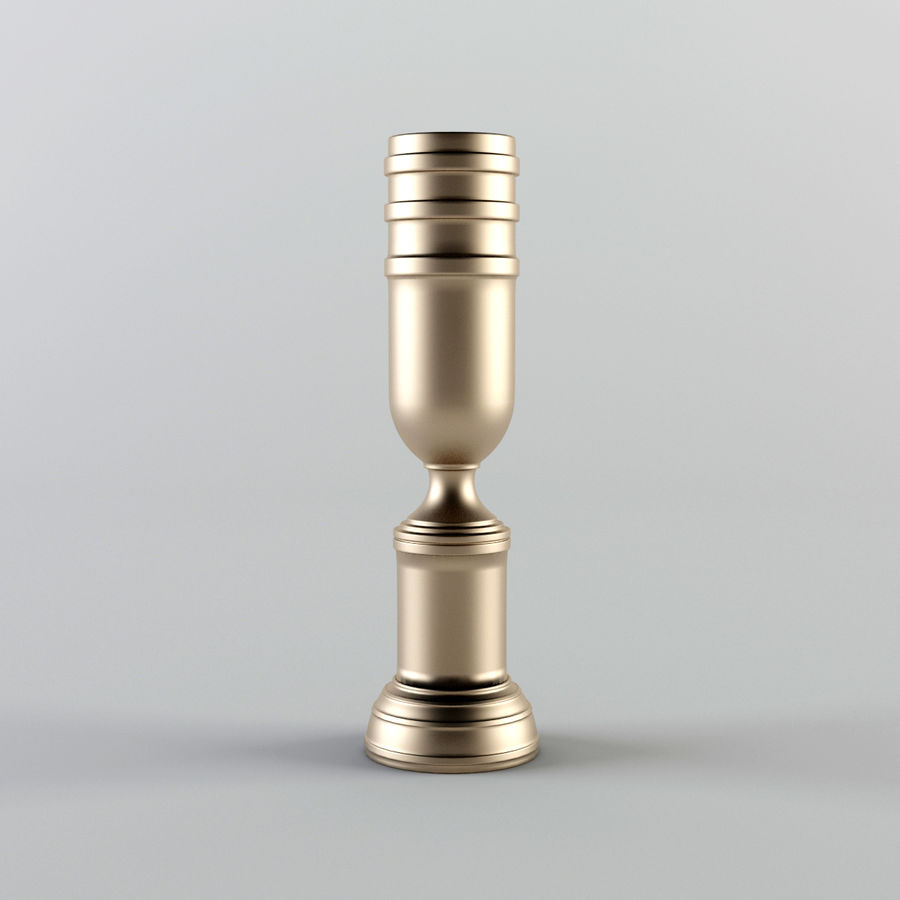 Trophy Cup - Award Set royalty-free 3d model - Preview no. 5