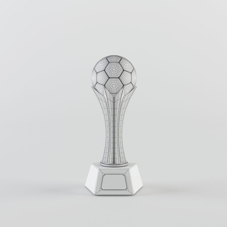 Trophy Cup - Award Set royalty-free 3d model - Preview no. 9