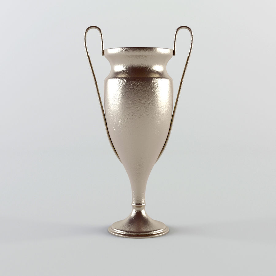 Trophy Cup - Award Set royalty-free 3d model - Preview no. 2