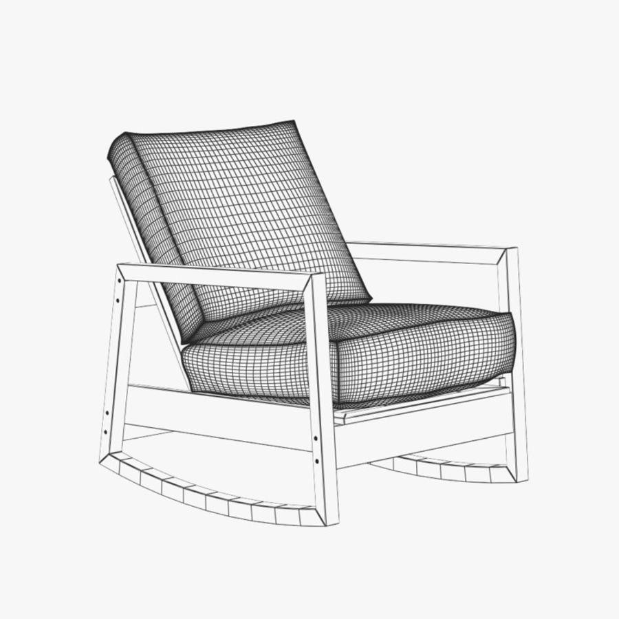 Stupendous Ikea Lillberg Chair 3D Model 39 Max C4D Obj Fbx 3Ds Theyellowbook Wood Chair Design Ideas Theyellowbookinfo